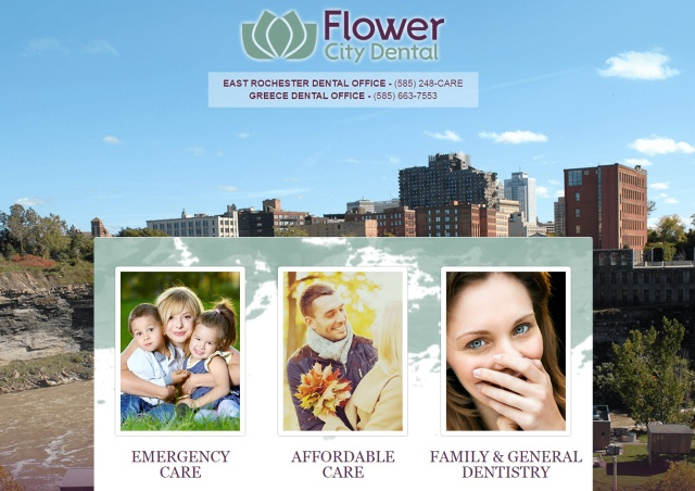 Flower City Dental - Mini Site