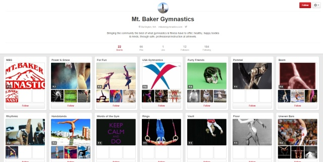 Mt. Baker Gymnastics - Pinterest